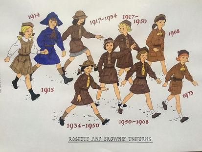 Brownie history uniforms.jpg