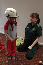 Rainbows learn first aid