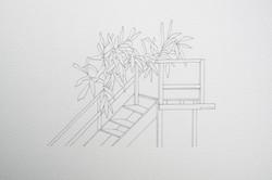 muelle + plantas