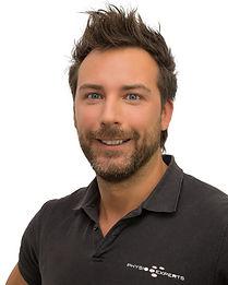 Physio-Expert Geschäftsführer und Physiotherapeut Daniel Aichner