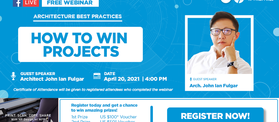 FREE WEBINAR   Architecture Best Practices: How to Win Projects