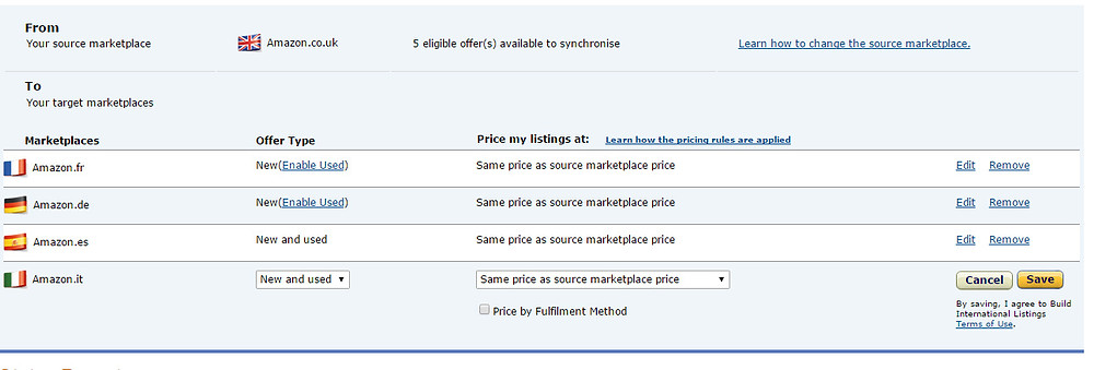 how to sell on amazon europe