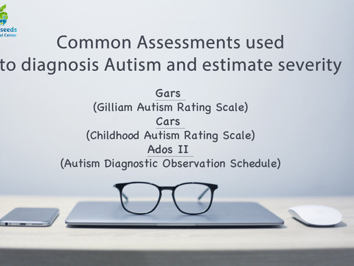 Common Assessments Used to Diagnose Autism & Estimate Severity
