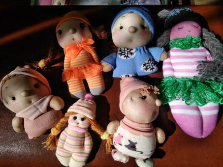 «Мастер-класс по изготовлению текстильных кукол-пупсов»