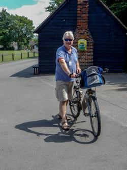 Chris with bike