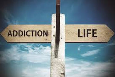 Signpost Addiction Life