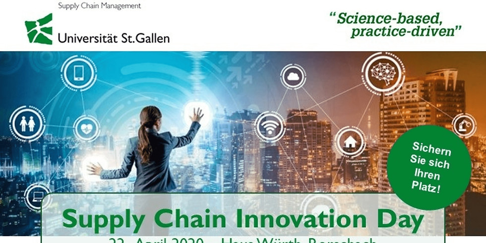 St. Galler Supply Chain Innovation Day 2020