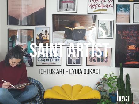 Saint Artist - Ichtus Art de Lydia Oukaci