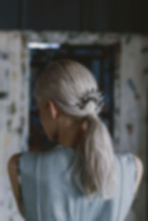 danni-modern-ponytail-comb-silver-model-