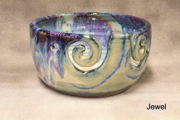 Double Spiral Yarn Bowl