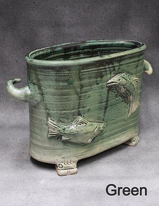 Oval Fish Vessel
