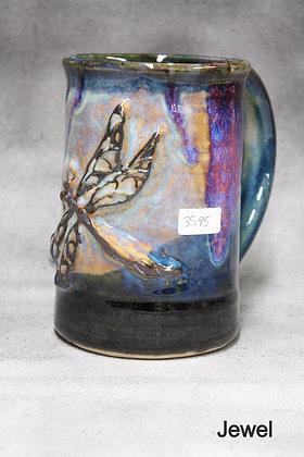 Large Dragonfly Mug