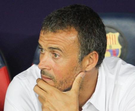 El Barça de Luis Enrique confirma en Anoeta su caída en picado