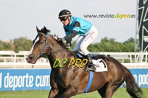 Igollo de Camargo tras ganar con Janacek el Pr.Urquijo en La Zarzuela