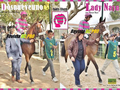 Dosnueveuno y Lady Naya (Cuadra Alisares)