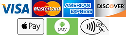 We accept all cards and contactless payments