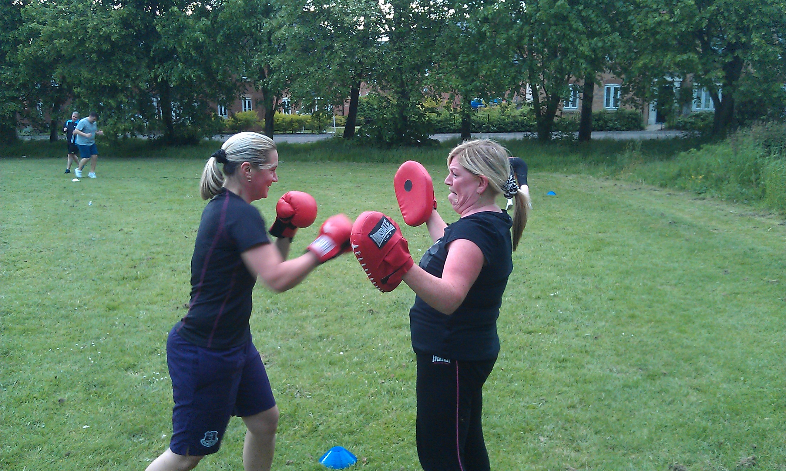 Outdoor Boxing