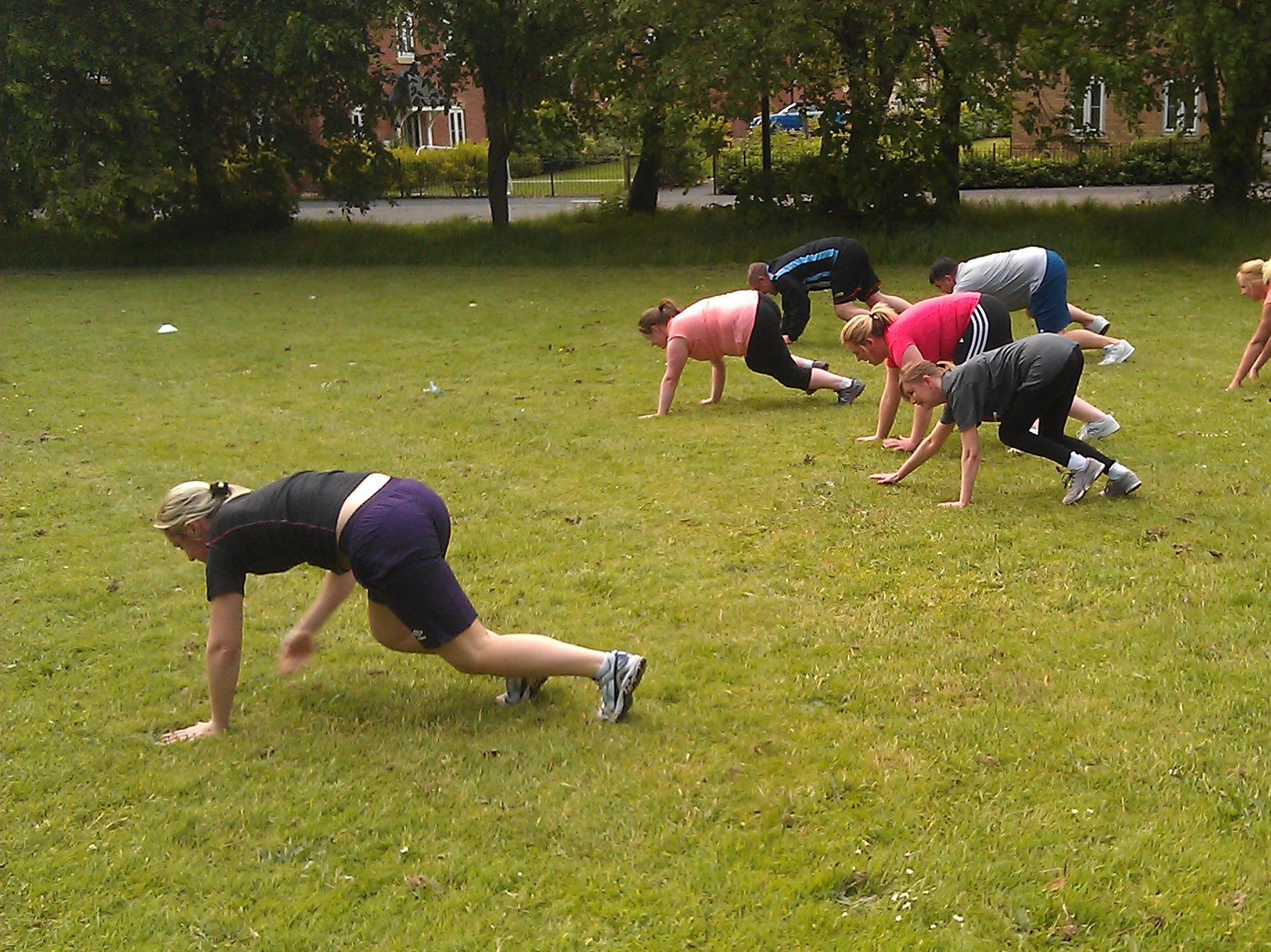 Outdoor Bootcamp Training