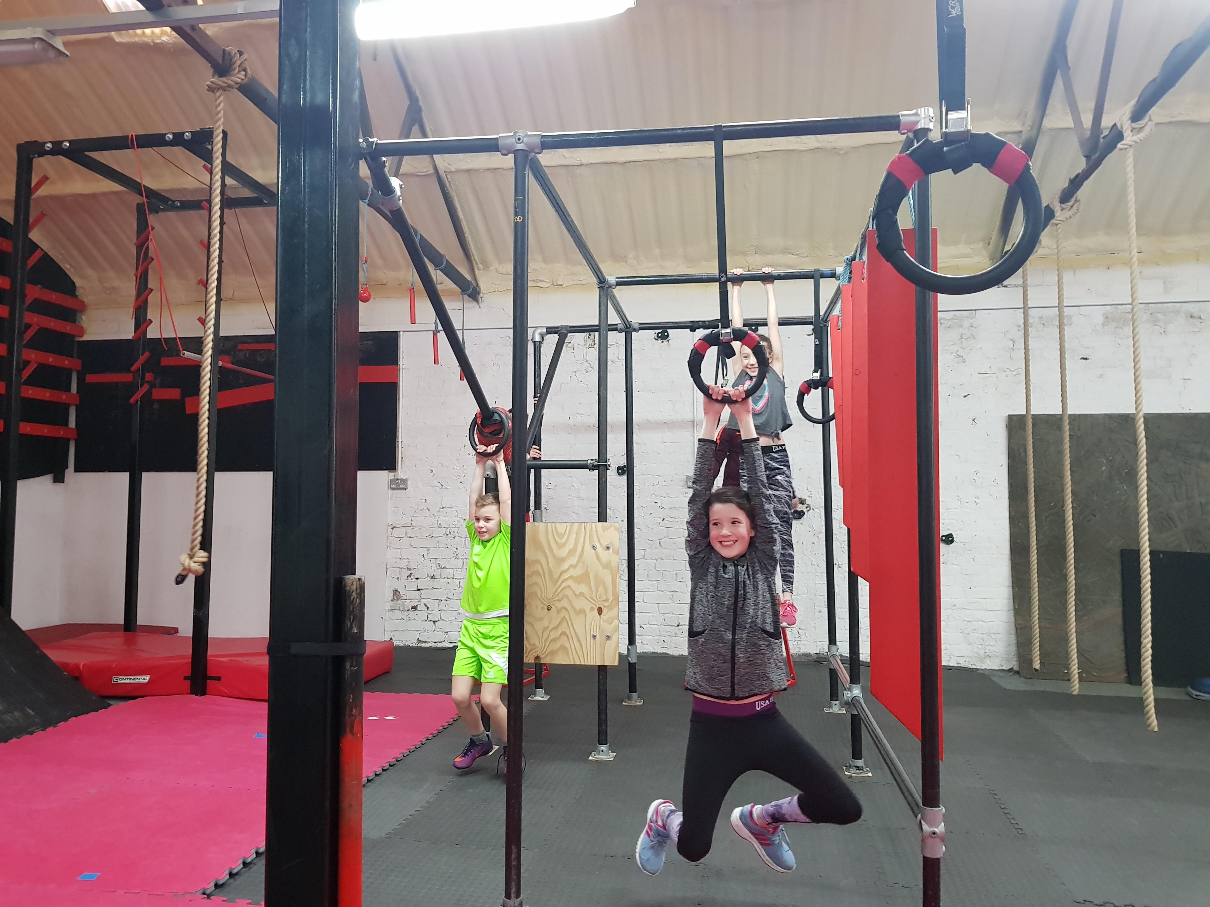 Kids ninja activity