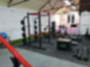 Fully equipped gym and training area