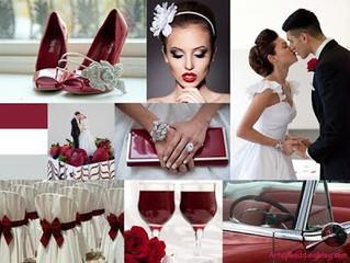 Divatos színes esküvők