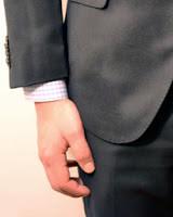 a zakó ujja rövid