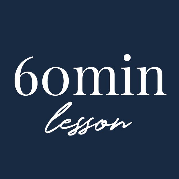 60 minute lesson