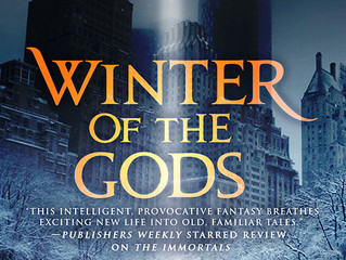 WINTER OF THE GODS Cover Launch