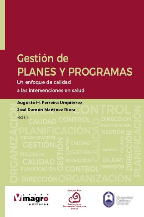 Gestión de Planes y Programas en Salud