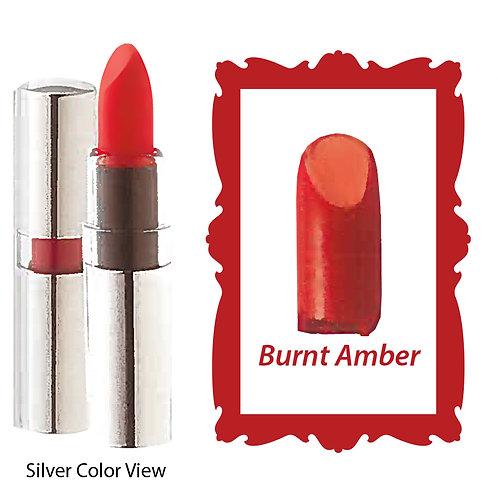 Crème Lipstick - Matte Black - Burnt Amber