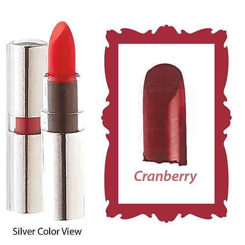 Crème Lipstick - Matte Black - Cranberry