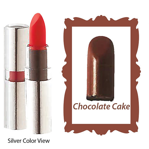 Crème Lipstick - Matte Black - Chocolate Cake