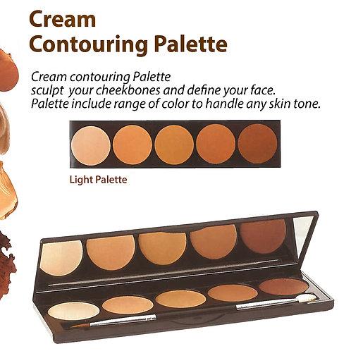 Cream Contouring Palette - Light