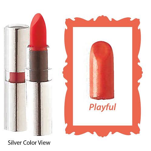 Crème Lipstick - Matte Black - Playful