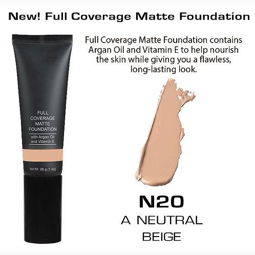 Full Coverage Matte Foundation - A Neutral Beige