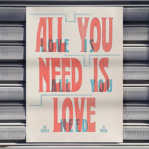 Poster Love Is All You Need