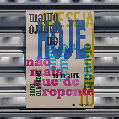 Poster  Enquanto dure