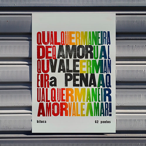 Poster Amor Vale a Pena