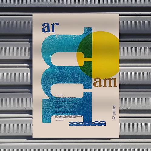 Poster Um Soneto