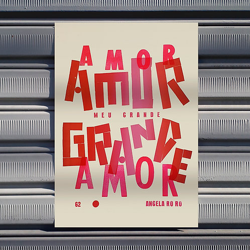 Poster Amor, Meu Grande Amor