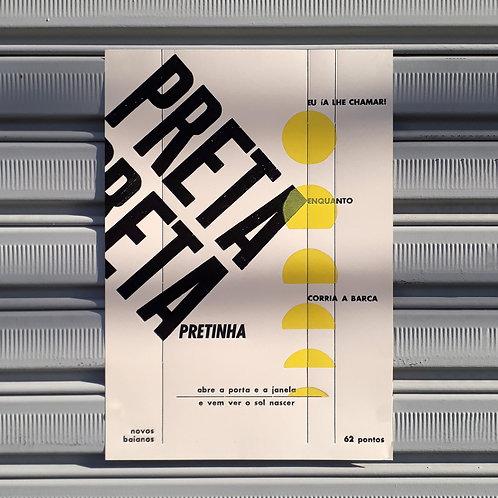 Poster Preta Pretinha