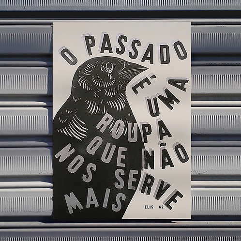 Poster Velha Roupa Colorida