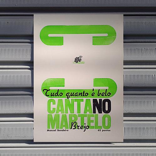 Poster Sapo Martelo