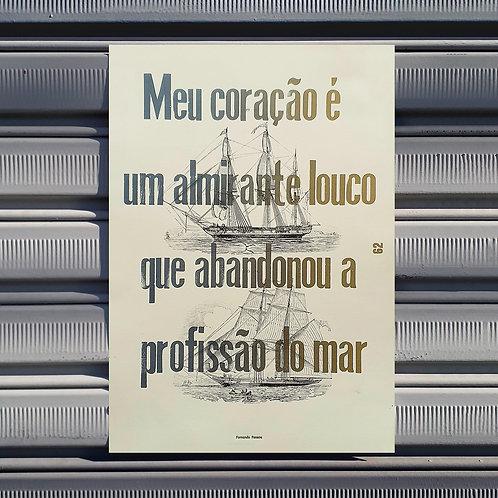 Poster Ah, Um Soneto