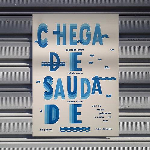 Poster Chega de Saudade