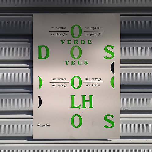 Poster Olhos Verdes
