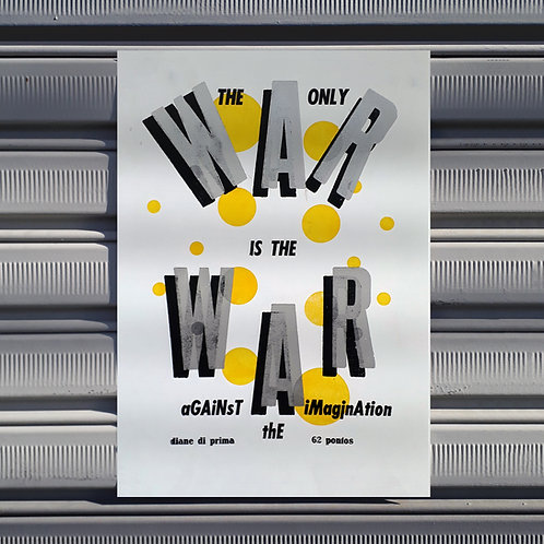 Poster War (Diane di Prima)