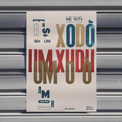Poster Um Xodó