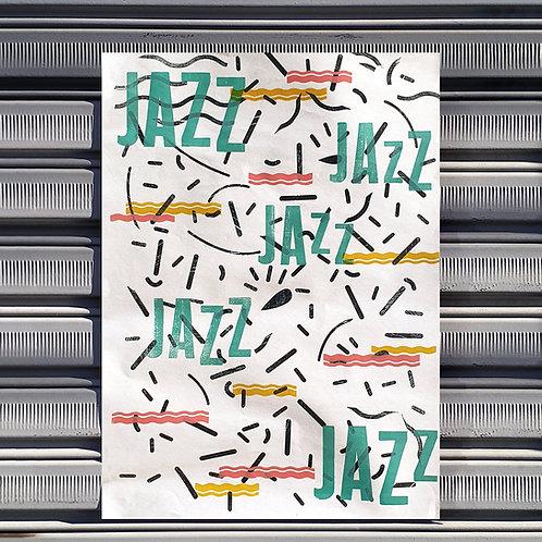 Poster Happy Jazz