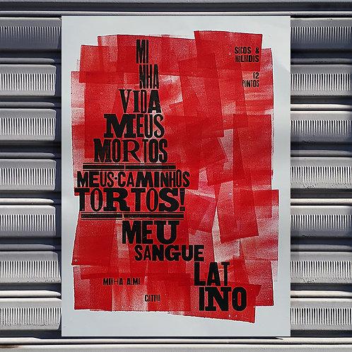 Poster Sangue Latino